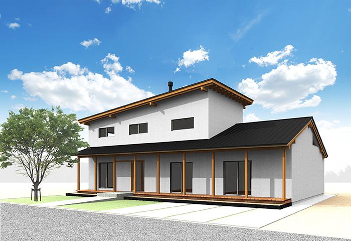 ARCHITECT 02 oamu sano : 佐野 修 type-03 通り土間のある家