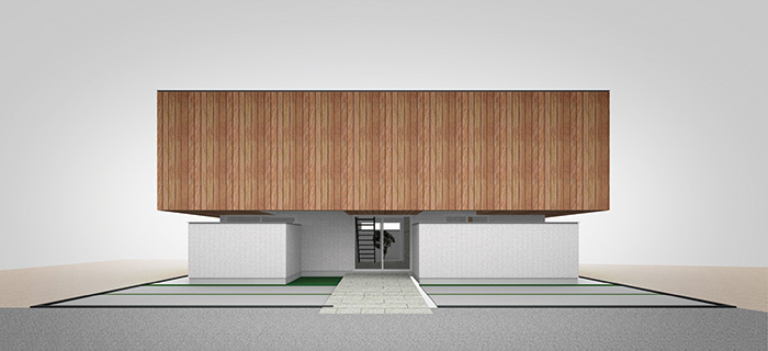 ARCHITECT 03 takuya hasegawa : 長谷川 拓也 type-04 2階リビングの箱の家
