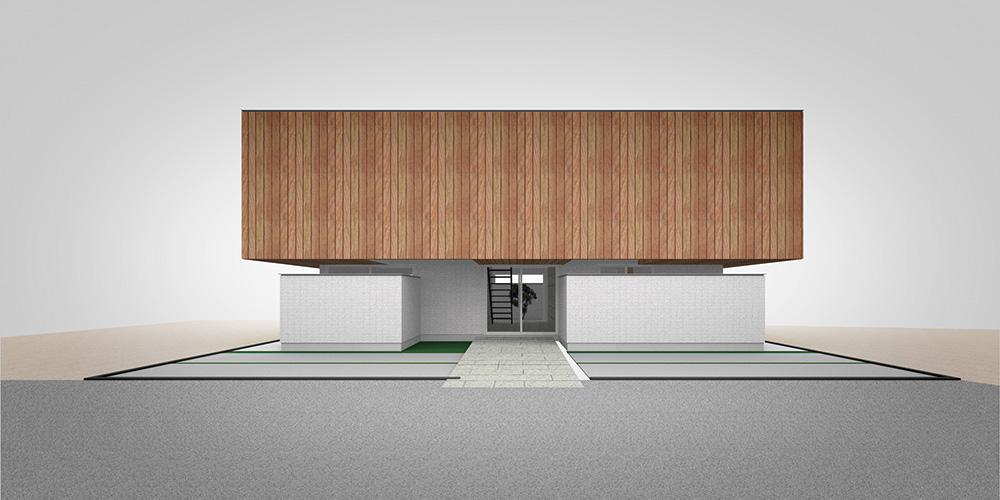 長谷川 拓也/type-04 2階リビングの箱の家